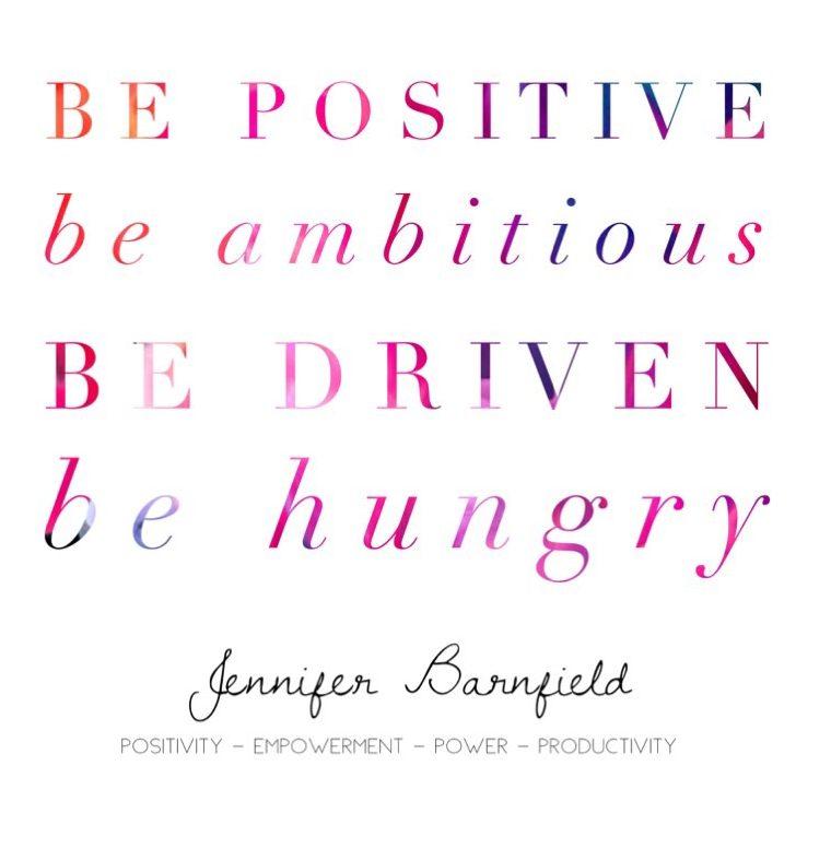 Jennifer Barnfield - Positivity