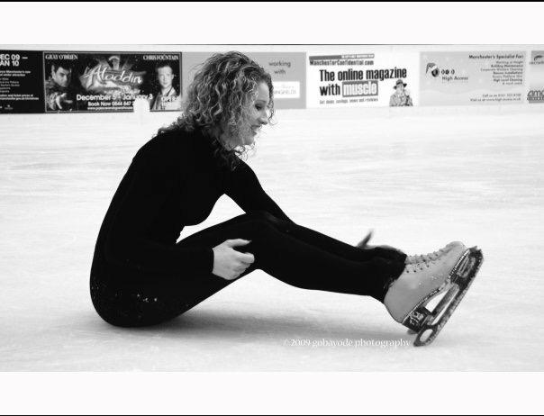 ice skating, ice dance, dancing on ice, jennifer barnfield, british champion, welsh champion, scottish champion