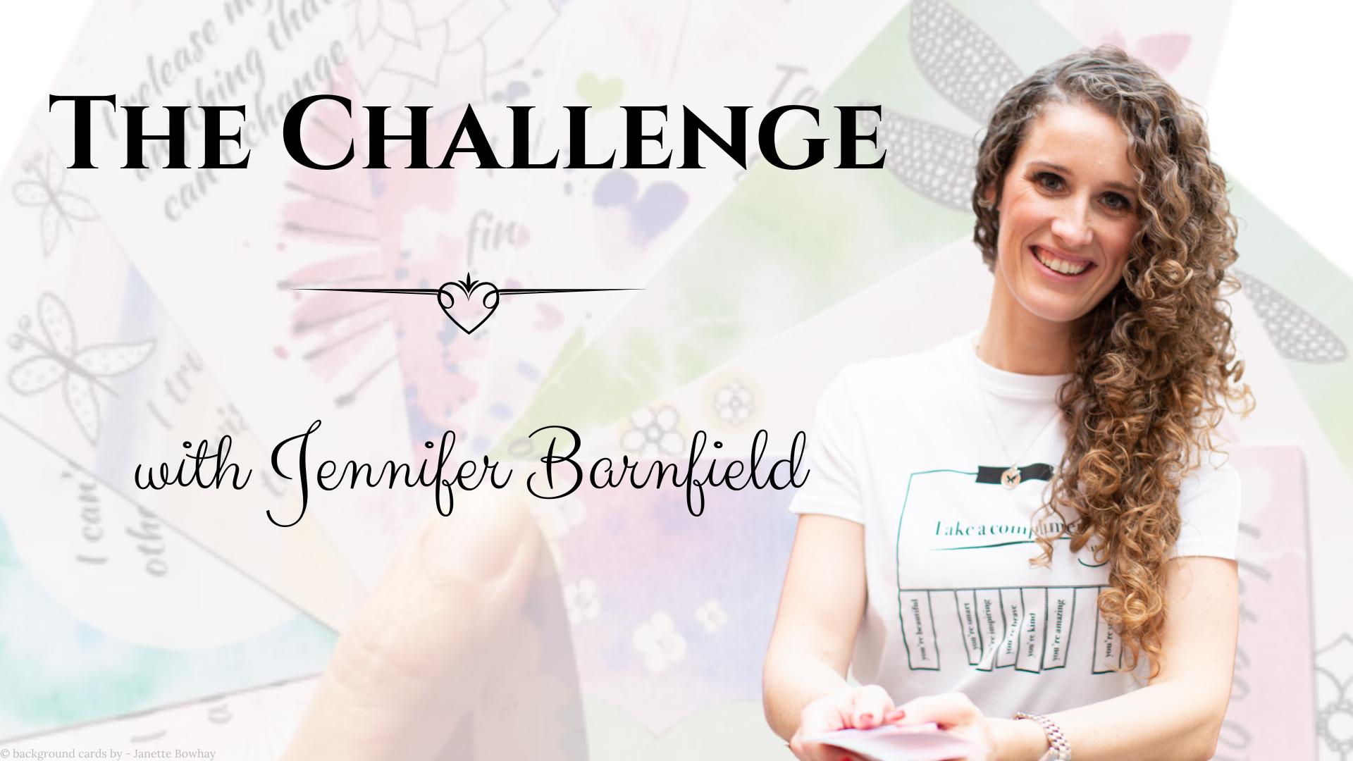 Creating Card Packs - The Challenge - Jennifer Barnfield